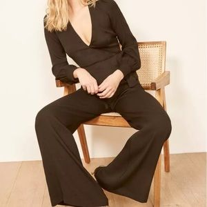 Reformation Molly Long Sleeve Jumpsuit
